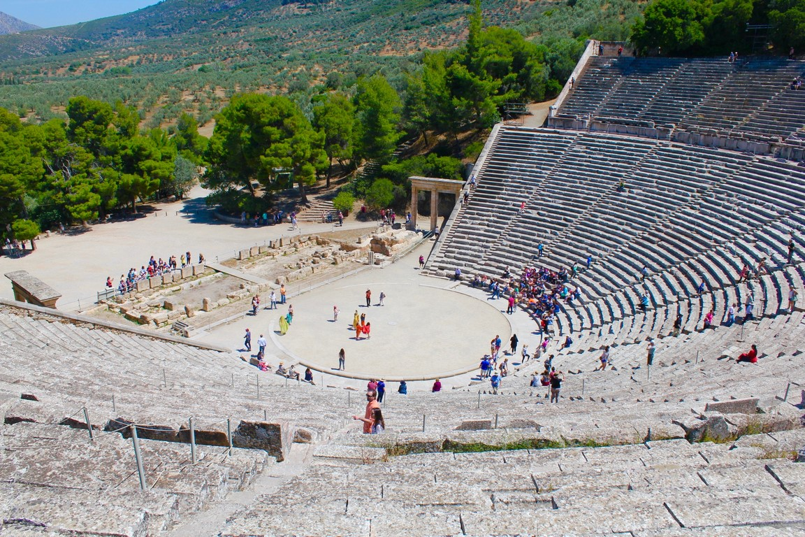 Argolis day tour epidaurus theater mycenae nafplion