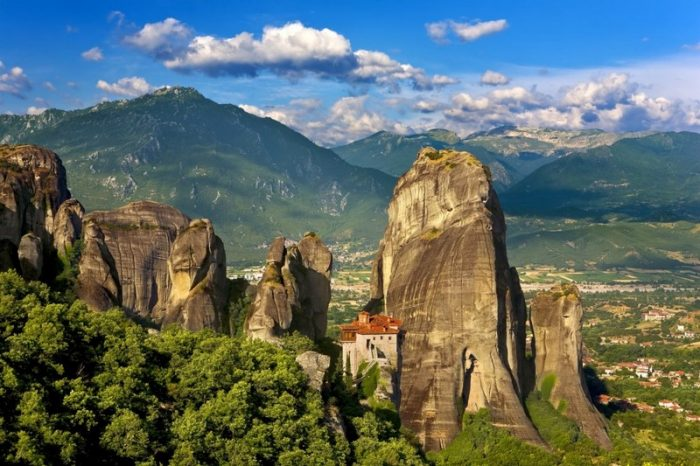 meteora tour greece